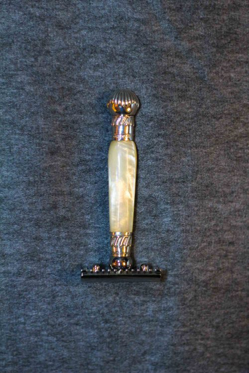 Safety Razor, Mother of Pearl, 1920, Sheffield.