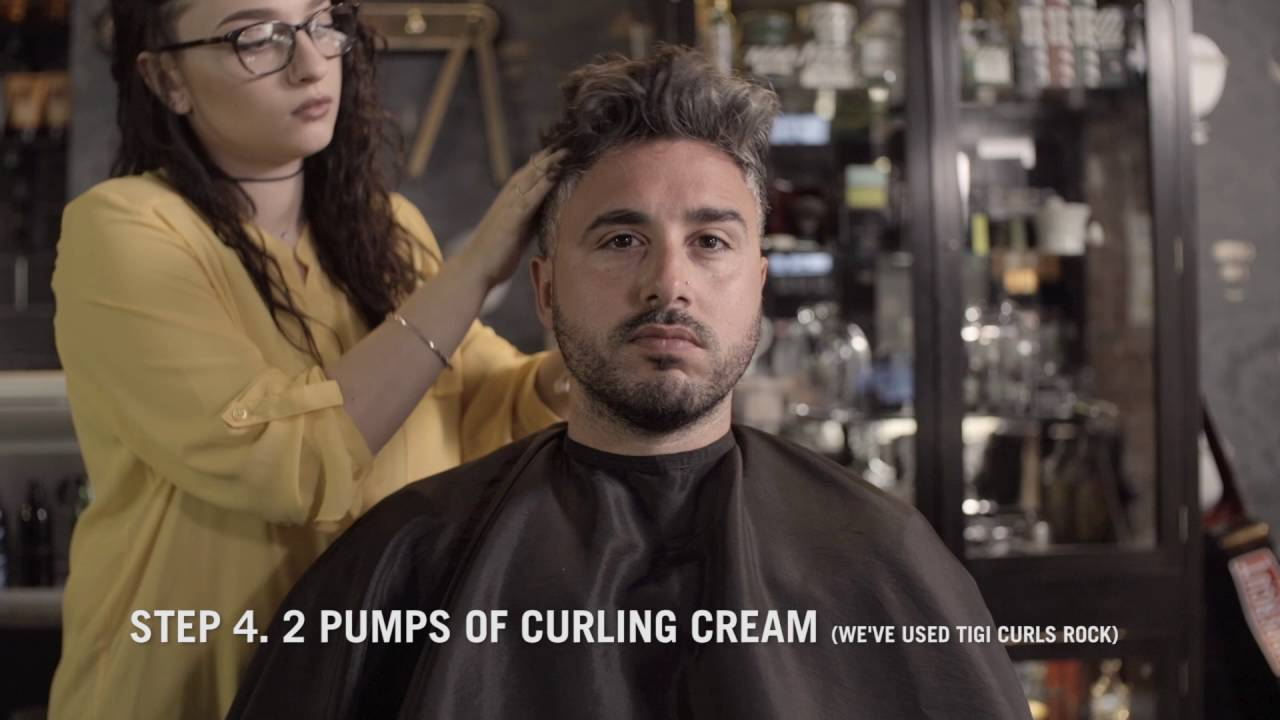 The-Short-Curly-Quiff-Hair-Style-Porters-Barbers-How-To-Guide