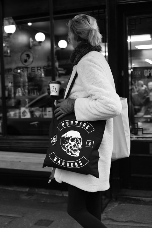 Porters Barbers Tote Bag
